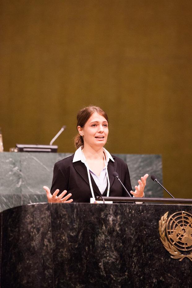 Photo of Göttinger Studentin hält Rede vor der Generalversammlung der UN
