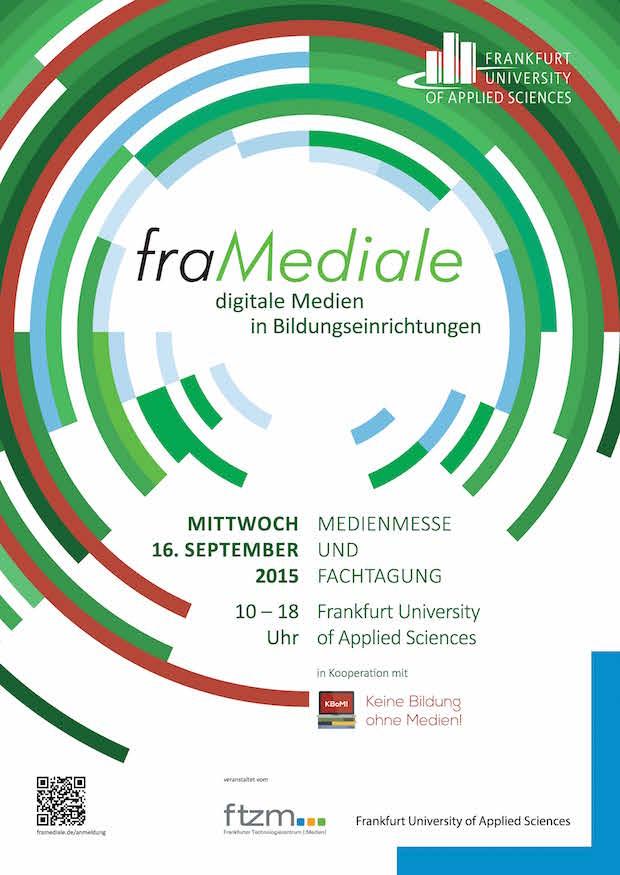 Photo of Medienmesse und Fachtagung fraMediale will Widerstände gegen digitale Medien in Schulen und Hochschulen abbauen / Anmeldung bis 31. August 2015