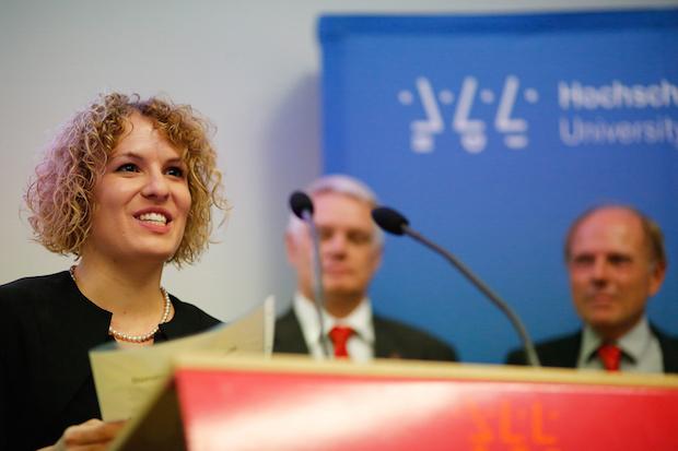 Photo of DAAD-Preis 2015  für Fanny Máté