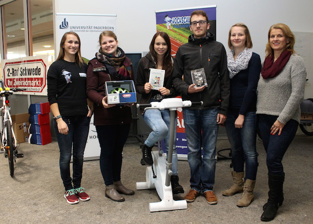 Photo of Paderborner Studierende sind gerne Pedalisten