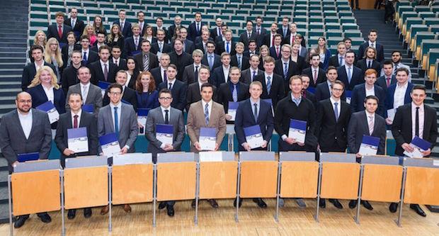 Photo of Absolventenfeier und Ball der Fakultät für Maschinenbau