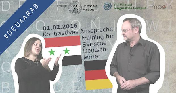 Photo of Kostenfreies Online-Aussprachetraining für Syrische Deutschlerner und für Geflüchtete