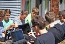 In Ferienlagern können Kinder und Jugendliche ihre IT-Begeisterung ausleben