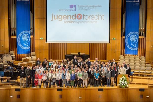 Photo of Auszeichnung der Jugend forscht-Sieger an der Uni Bonn