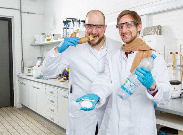 Photo of Nahrung & Rohstoff: Nylonstrümpfe und Plastikflaschen aus Chicorée-Salat-Abfällen
