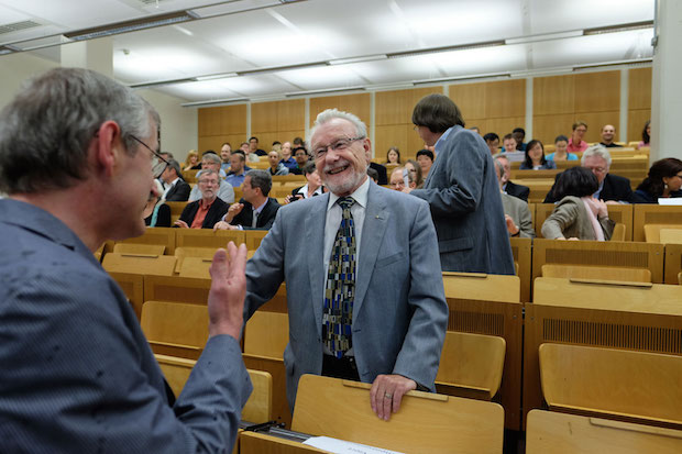 Photo of Festkolloquium an der Universität Siegen zum 80. Geburtstag von Prof. Dr. Dietbert Knöfel.