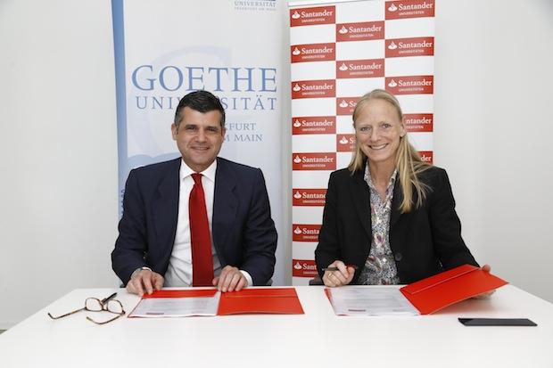 Photo of Santander und Goethe-Universität Frankfurt verlängern Partnerschaft