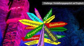 Erste Vorstellungsgespräch-Simulation mit Englisch-Intensiv-Training für Bewerber/innen