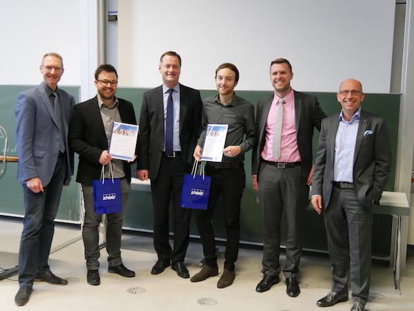 Photo of Christian Fandel und Mirko Hirschmann erhalten KPMG Award