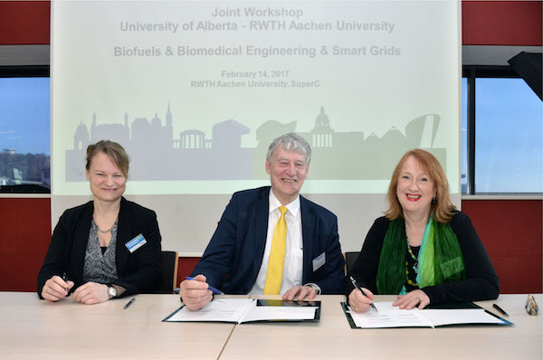 Photo of RWTH Aachen und University of Alberta werden Partner